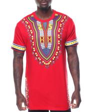 Shirts - S/S Tribal Printed Tee
