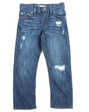 Levi's - 511 Slim Destruction Jeans (4-7X)