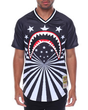 Hudson NYC - Shark Mouth Rays Baseball Jersey