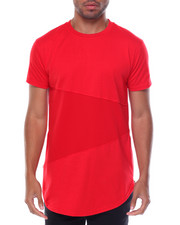 Men - Mesh Color-block Tee
