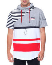 Men - S/S NationStripe Hood Knit