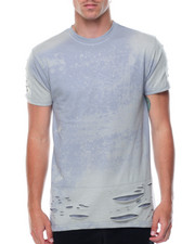 Men - Distressed Bleached Tee
