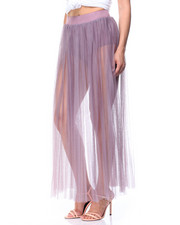 summer-womens - Mesh Maxi Skirt