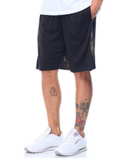 Basic Essentials - Camo Trim Mesh Basketball Shorts-2103432