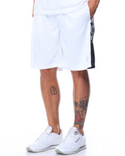 Basic Essentials - Raindrop Mesh Basketball Shorts-2103337