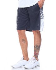 Basic Essentials - Raindrop Mesh Basketball Shorts-2103366