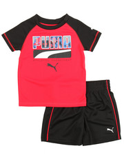 Puma - Shirt & Short Set (2T-4T)