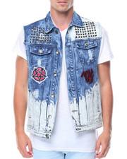 Outerwear - Trap Boy Denim Vest