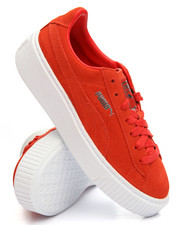 summer-womens - Suede Platform Sneakers