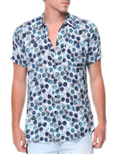 Button-downs - S/S Printed Shirt