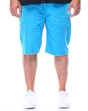 Shorts - Solid Denim Shorts (B&T)