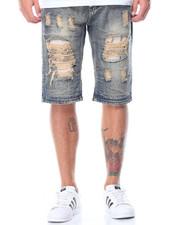 Men - Rip & Repair Denim Shorts