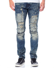 Jeans & Pants - Pleated Knee Denim