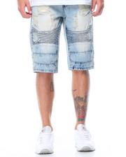 Buyers Picks - Rip & Repair Moto Denim Shorts