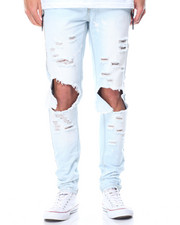 Jeans & Pants - Ripped Knee Denim