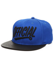 Official Brand - 1D 2.0 Snapback With Faux Leather Visor