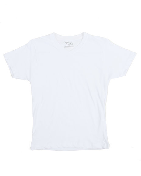 Arcade Styles - V-Neck Solid Tee (8-20)