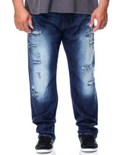 Regular - Ripped Denim Jean With Backing (B&T)