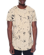 Shirts - Paint Splatter Reverse French Terry S/S Tee/Zippers