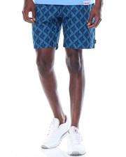 Spring-Summer-M - Diamond Tile Belted Shorts
