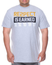 Shirts - Respect Is Earned Tee (B&T)