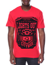 Shirts - Lights Out Flocked Tee