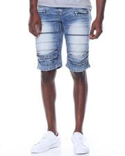 Kilogram - Pleated Knee Short W/Zippers