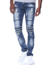 Jeans & Pants - Multi Paneled Rip Jean