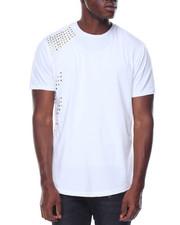 Shirts - Multi Studded Crew Neck Tee