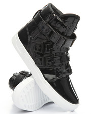 Radii Footwear - Straight Jacket Oil Patent Leather VLC High Top Sneaker