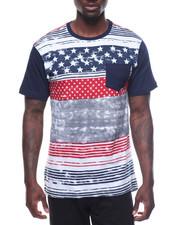Men - Mens Black Americana Tee