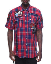 Button-downs - Patch S/S Button-Down