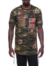 Shirts - Patch Camo T-Shirt