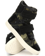 Radii Footwear - Oil Leather Cylinder High Top Sneaker