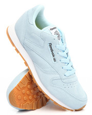 Footwear - CLASSIC LEATHER PASTEL SNEAKERS (3.5-7)