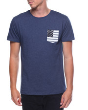 Shirts - S/S Flag Pocket Tee