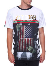 T-Shirts - Fly High S/S American Tee