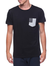 T-Shirts - S/S Flag Pocket Tee