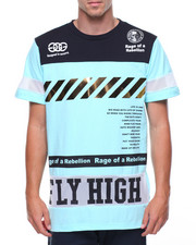 Shirts - Fly High S/S Tee W/Gold Trim