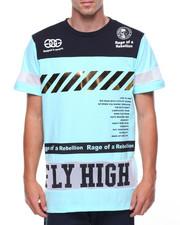 Men - Fly High S/S Tee W/Gold Trim