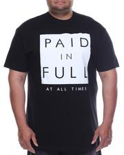 Big & Tall - Paid In Full Tee (B&T)-2106021