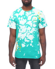 Shirts - S/S Tie Dye Bleached Tee