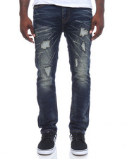 Jeans & Pants - Rip Stretch Denim