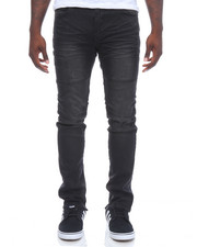 Jeans & Pants - Knee Trim Stretch Denim