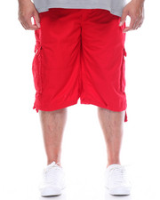 Big & Tall - Premium Washed Cargo Shorts (B&T)