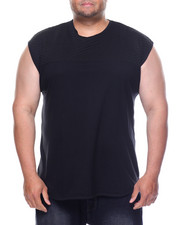 Men - Muscle Tank Top With Quilted Accent (B&T)