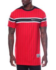 Shirts - S/S Baseball Tee Zipper Trim