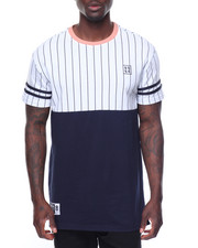 Men - Pinstripe Baseball Tee