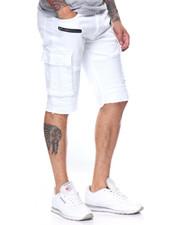 Men - Premium Biker Cargo Shorts W Zipper