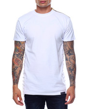 Shirts - S/S Side Rip Trimmed Tee